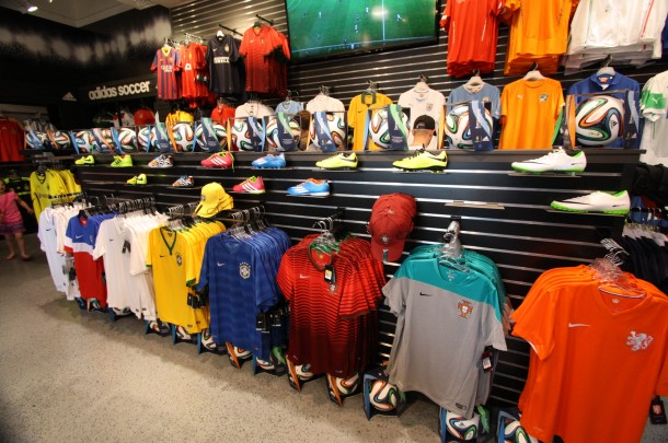United World Soccer - new in Downtown Disney