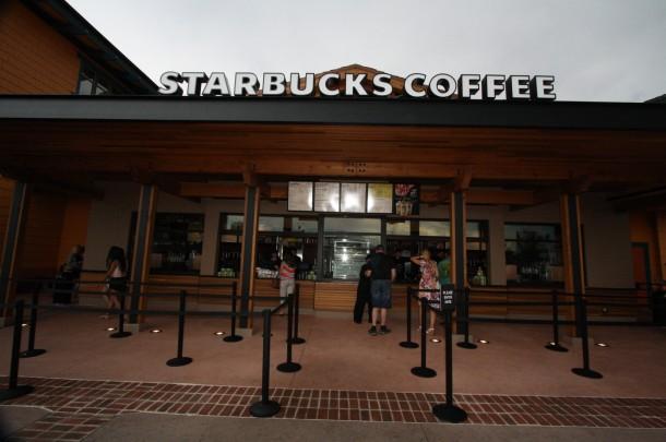 Starbucks at World of Disney