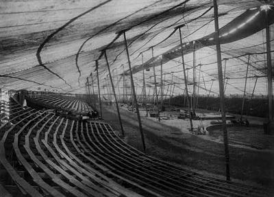 Interior Circus Tent, 1907