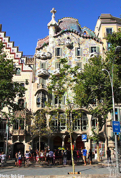 The Gaudi Casa Batilo