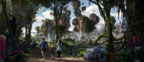 Concept art for new AVATAR attraction coming to Walt Disney World