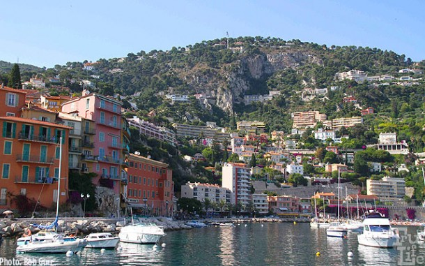 Villefranche is a spectacular small town perched on the Cote 'd Azur