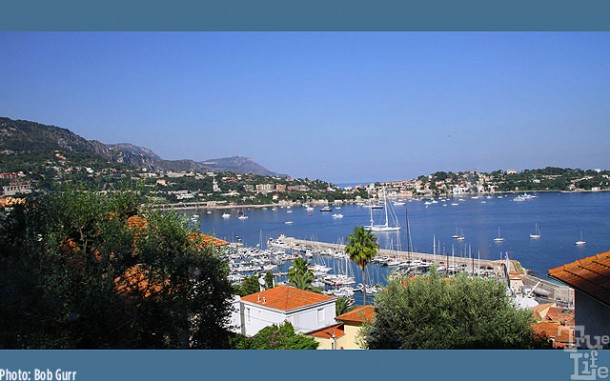 Port Villefranche is one of the most beautiful on the French Riviera