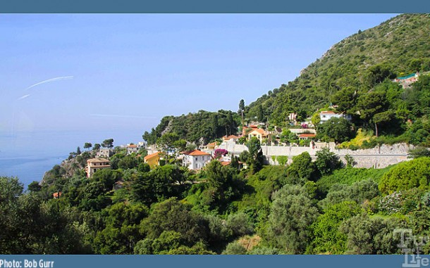 The wealthy can enjoy summer villas with spectacular Mediterranean views