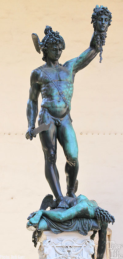 Cellini's Perseus with the Head of Medusa