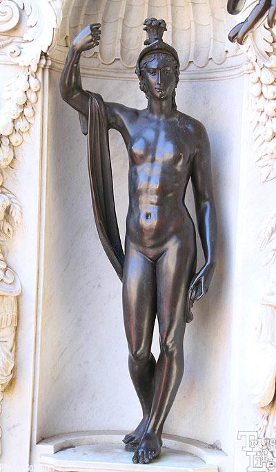 Minerva bronze statuette