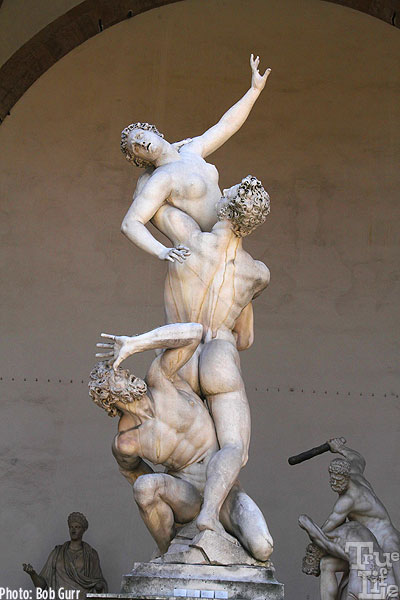 Rape of The Sabine Women by Giambologna