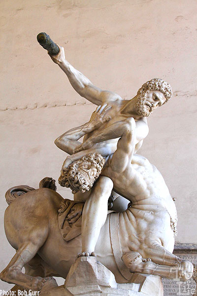 Hercules slaying Nessus