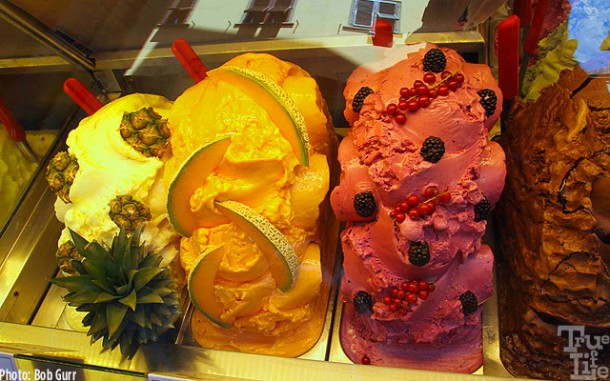 Italian gelato is not just ice cream, it's sculpted treat like no other