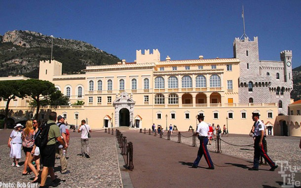 Visitors to Monaco can tour inside the comfortably beautiful Palace