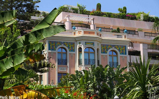 One of the beautiful villas of Monte Carlo
