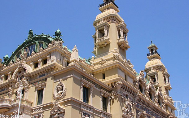 A detail of the Monte Carlo Casino