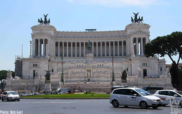 Capitolino is a most imposing government complex