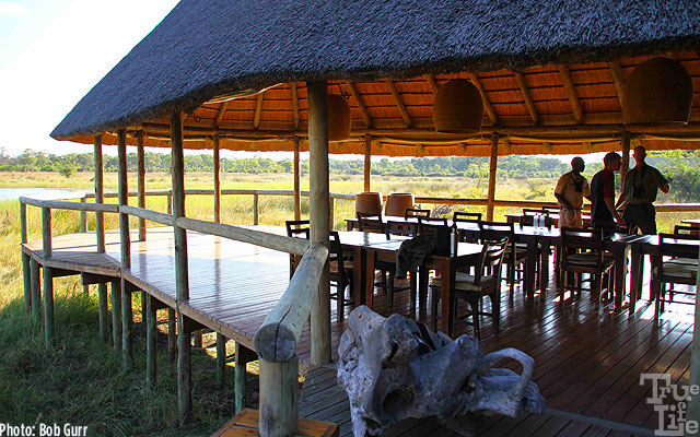 Wilderness Safari camps are beautifully situated in scenic locations
