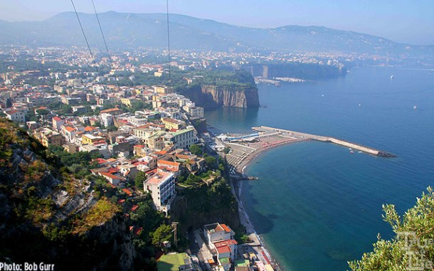 Sorrento is a favorite destination on the Bay of Naples.