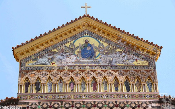 The Duomo di Amalfi facade is probably the most beautiful in all Italy.