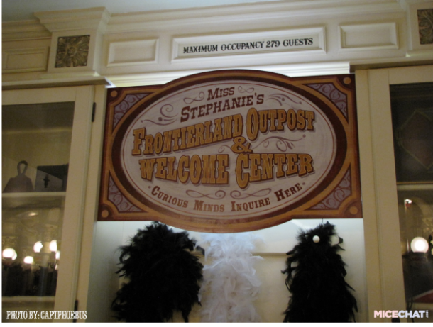 "An official ""Welcome Center"" was added inside the Golden Horseshoe - to create a defined launching point for new players."