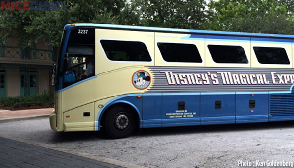 Arriving by Magical Express – the only way to go!