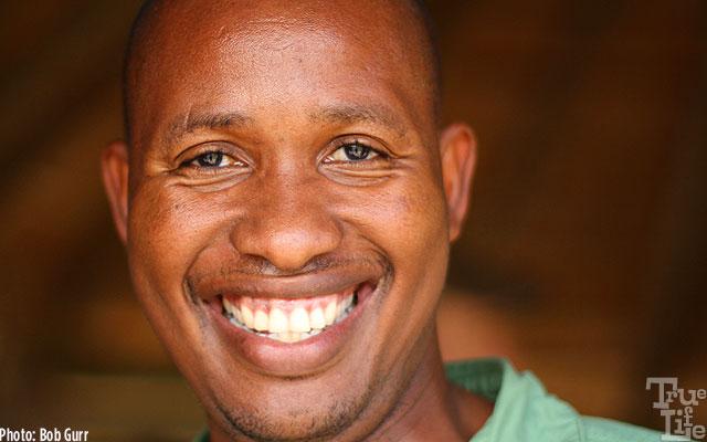 Camp Banoka staff - the people of Botswana totally love their country