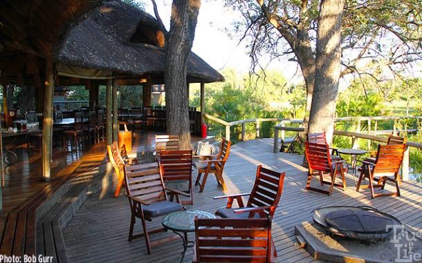Camp Xigera lodge has a luxury charm