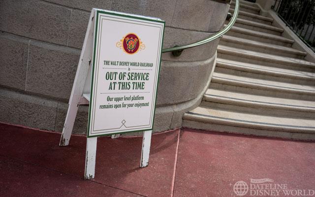 Walt Disney World Railroad currently not operating.