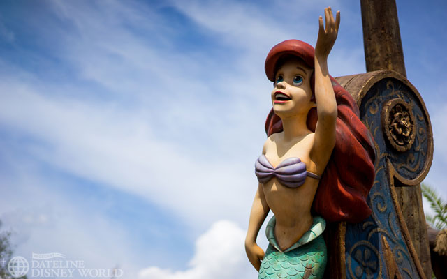 Under the Sea is scheduled for a month long refurbishment in early  2015. Let's hop it gets the new lighting package the DCA version got.