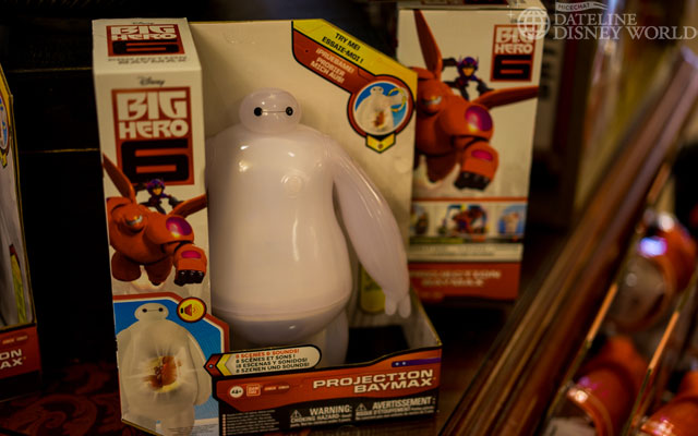 Big Hero 6 toys already available at the Emporium.