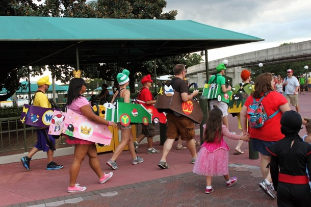 Costume Ideas for Mickey's Halloween Party