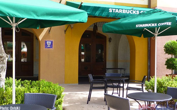 The newly added Starbucks features their full menu of drinks and food. Open from 6am – 10pm.