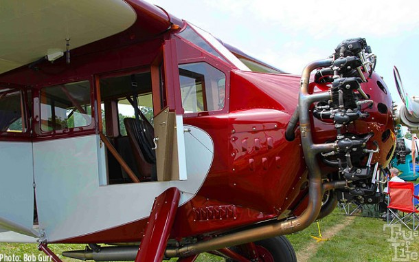 This 1920s Fairchild Model 71 is a restored antique beauty