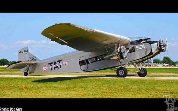 Ford Trimotor started transcontinental air service with TAT in 1928