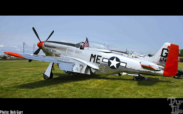 The WWII North American P-51 is still the perfect fighter design