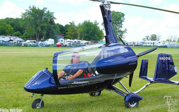 The sexy looking German Autogyro is fast and safe and very popular