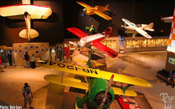 The Experimental Aircraft Association museum is a must see