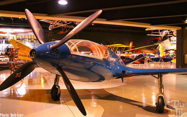 This radical 1939 Bugatti 100 air racer was never completed and flown