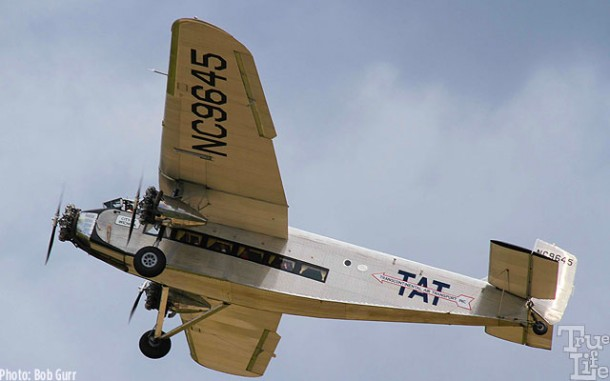 This Ford Trimotor flew passengers every day at AirVenture