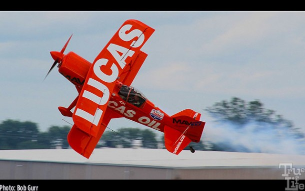 The Lucas Oil Pitts S-1-11b can perform almost every aerobatic move