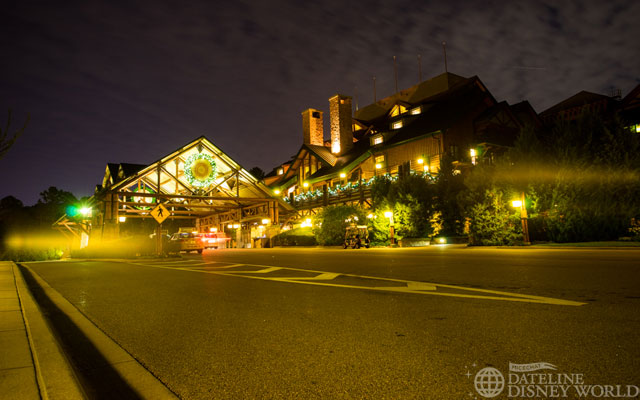 Over to the Wilderness Lodge!
