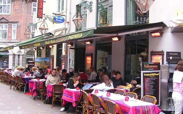 Just outside Tivoli Gardens are located the friendly areas of Copenhagan