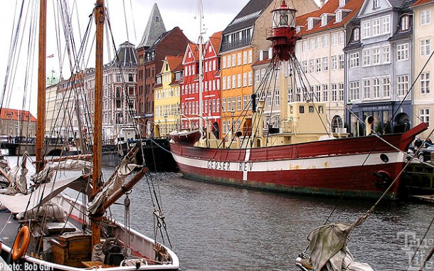 The Nyhaven is always the center attraction for Copenhagen visitors