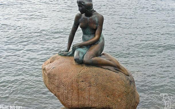 Disney has a Little Mermaid, but Copenhagen's Little Mermaid came first!