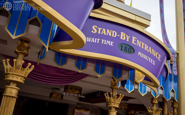 Anna and Elsa created huge waits at the Princess Fairytale Hall.