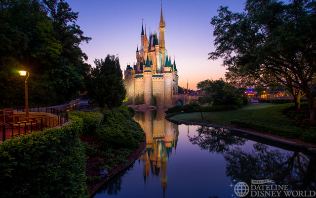 Disney had another 24 hour day, making for sunrise photos!