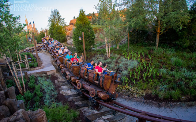 The Seven Dwarfs Mine Train opened after several years of construction, finally completing New Fantasyland.