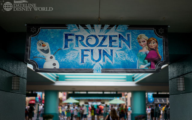 Frozen Fun took over the Studios this summer.