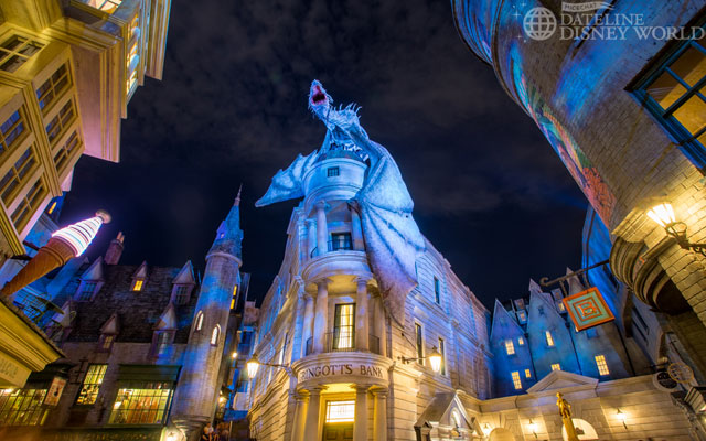 Diagon Alley opened at Universal continuing the next generation of theme parks one-upping each other.