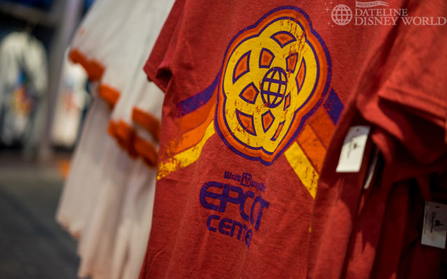 We got new EPCOT Center merch!