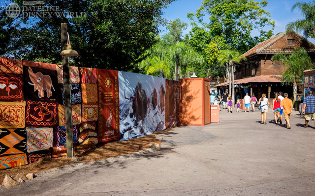 Animal Kingdom turned into Construction Wall Kingdom as the park prepares for big changes.