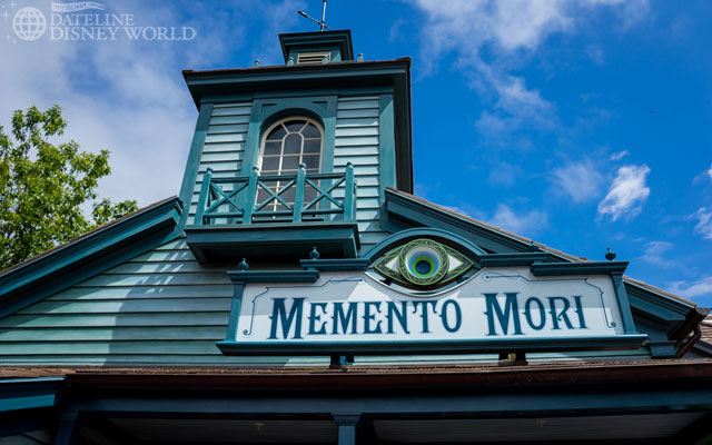 Memento Mori replaced the Yankee Trader and became the official shop for Haunted Mansion merchandise.