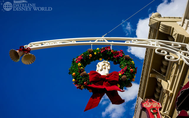 Christmas at MK looked different this year, with these new decorations on Main Street USA.
